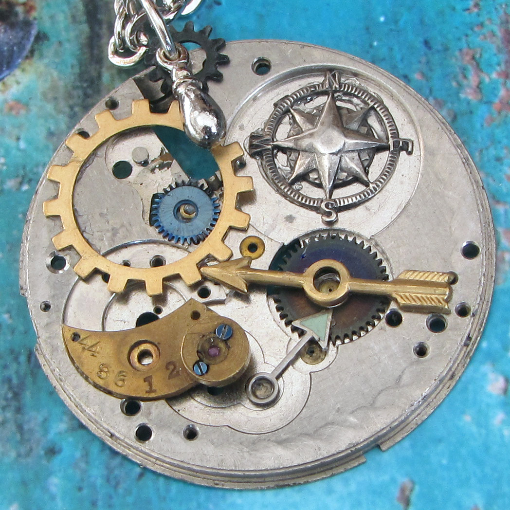 unique, handmade steampunk jewelry by ClockworkZero